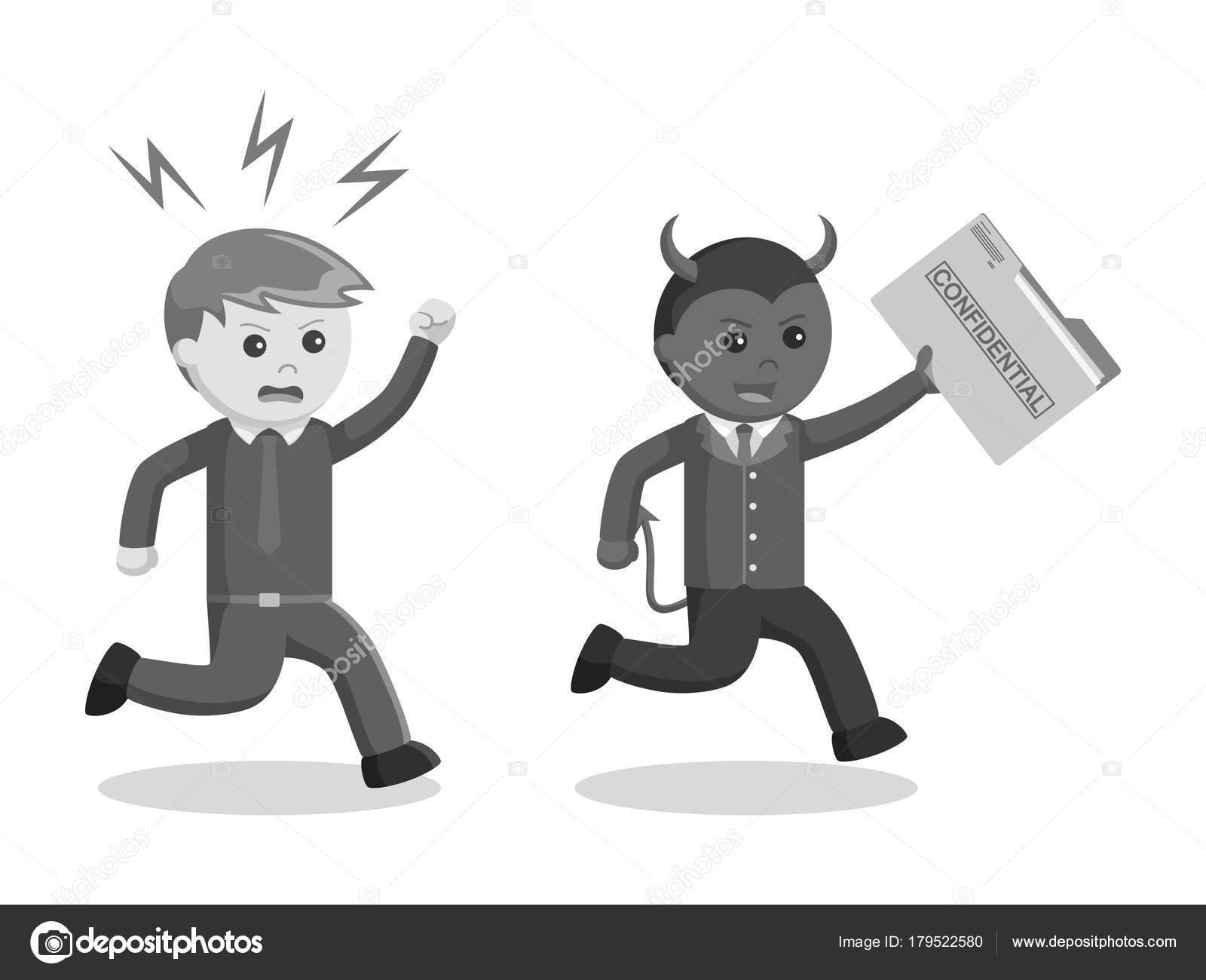 Homem negcios mal segurando estilo apple preto branco vetor de homem negcios mal segurando estilo apple preto branco vetor de stock altavistaventures Choice Image
