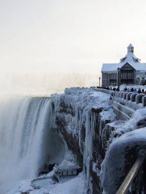 Niagara Falls in the winter, Canada