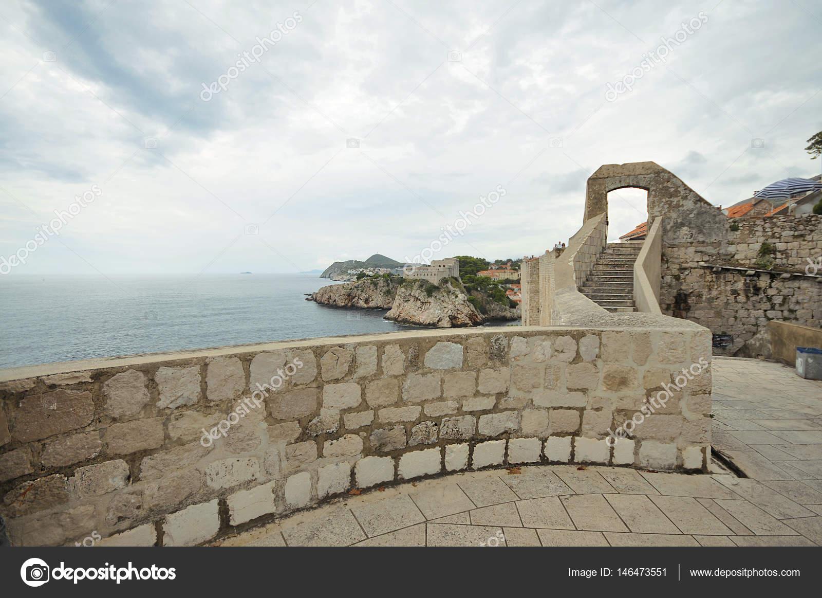 Dubrovnik Old City Walls Croatia Game Of Thrones Movie