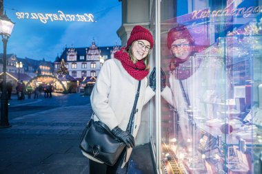 shopping trip in Coburg at Christmastime