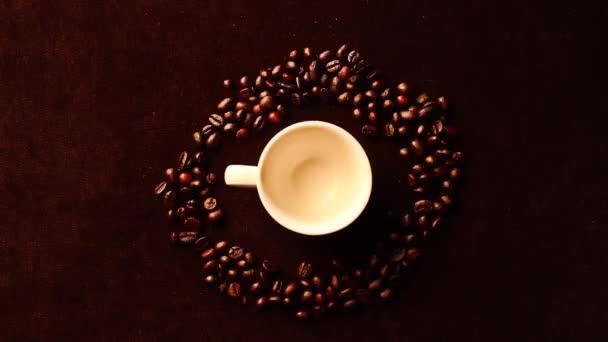 Zastavení pohybu káva