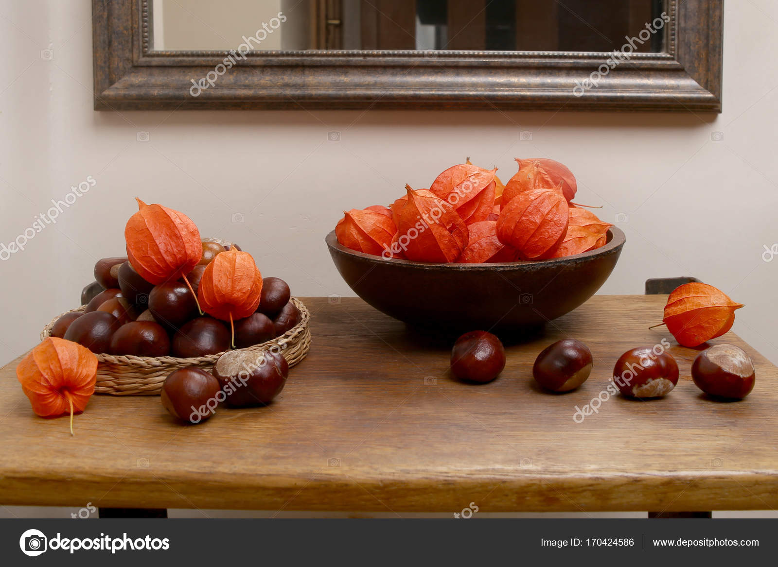 Herfst In Interieur : Herfst plant decoraties in interieur u2014 stockfoto © vaitekune #170424586