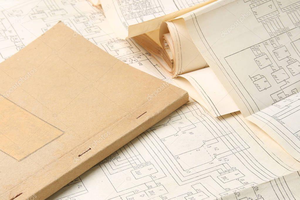 Fein Vintage Diagramme Ideen - Elektrische ...