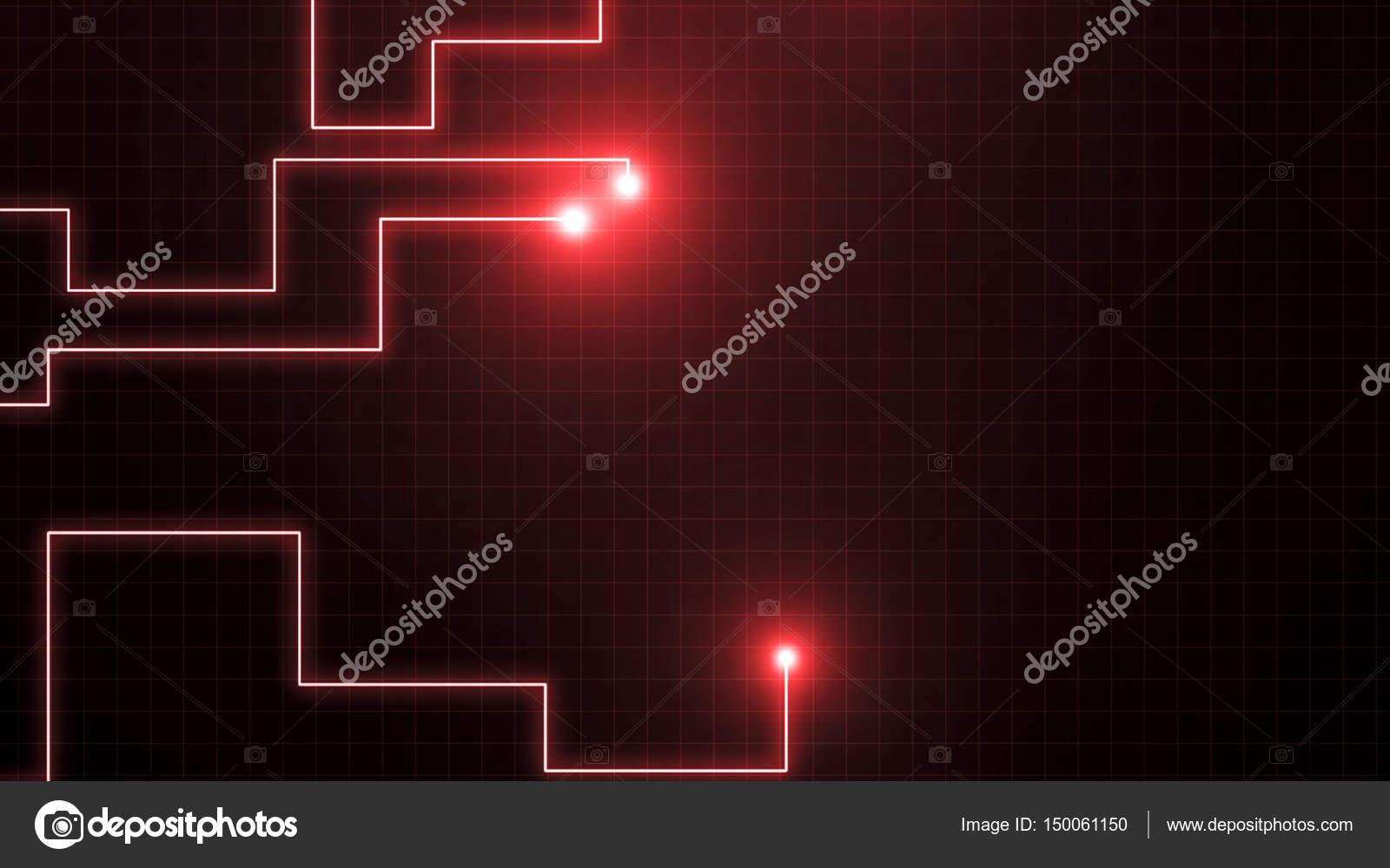 Rote Linien gezeichnet von Lichtblicke. Es kann darstellen ...