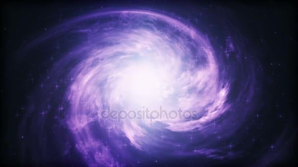 Spirální galaxie, animace Mléčné dráhy