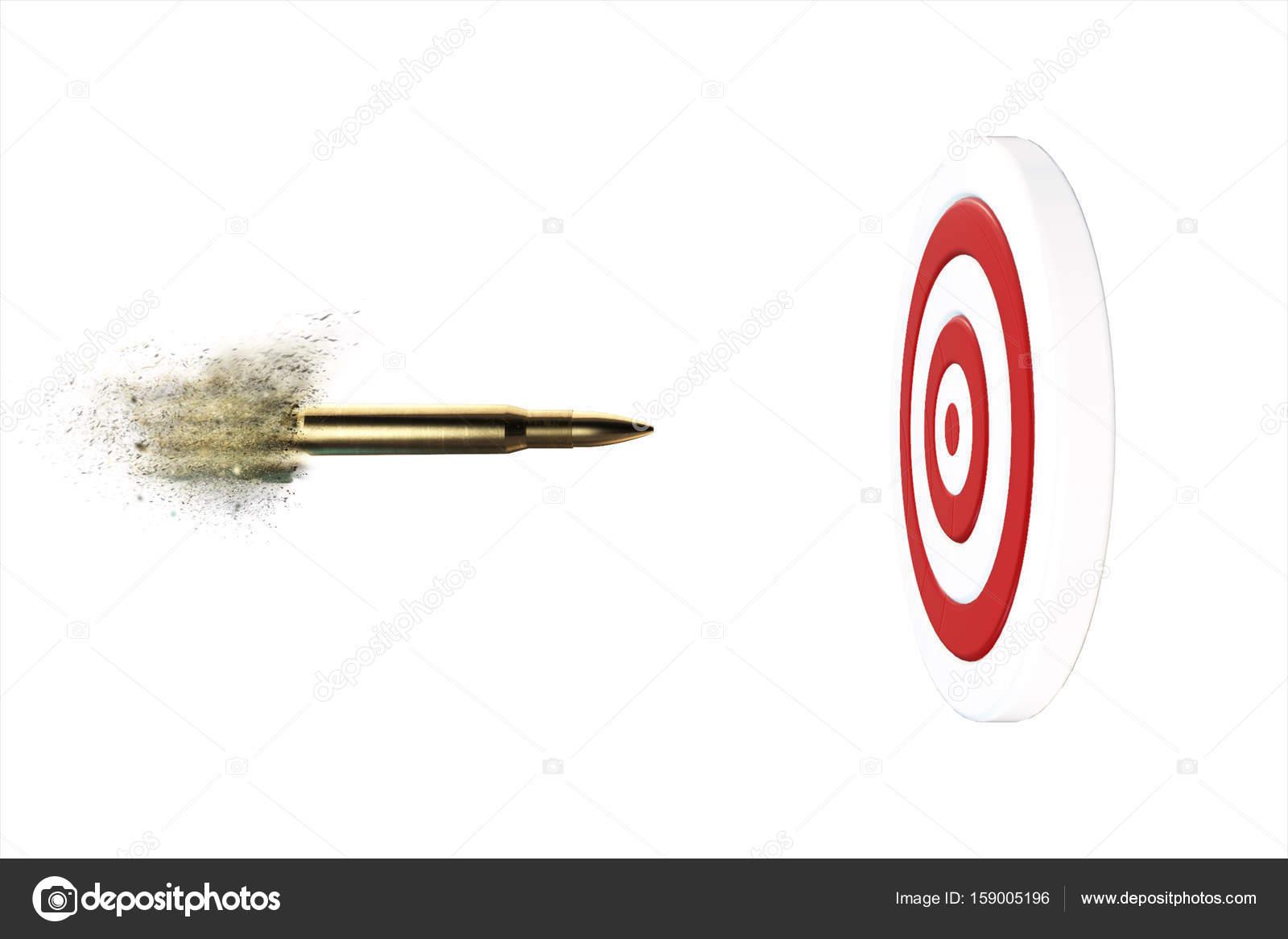 фотография картинка пули летящей в цель отличается что