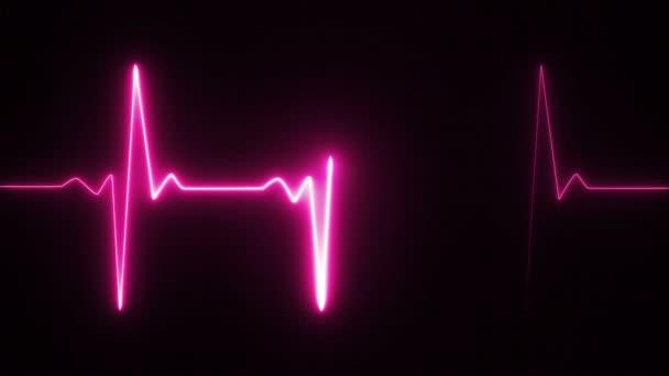 Szívverés impulzus rózsaszín