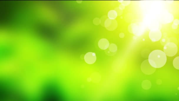 Természetes zöld mozgó háttér folyamatos hurok