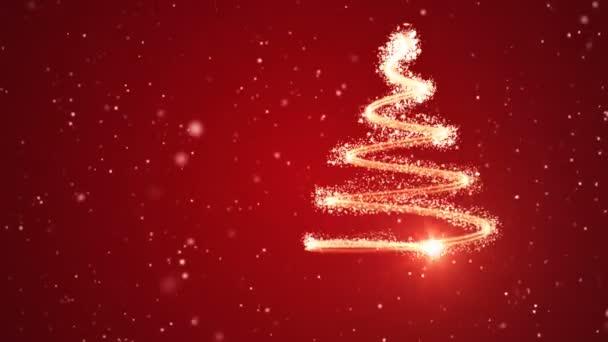 Karácsonyfa háttér - Boldog karácsonyt