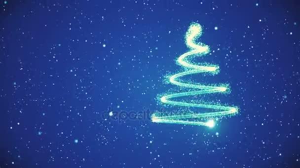 Vánoční strom pozadí - Veselé Vánoce