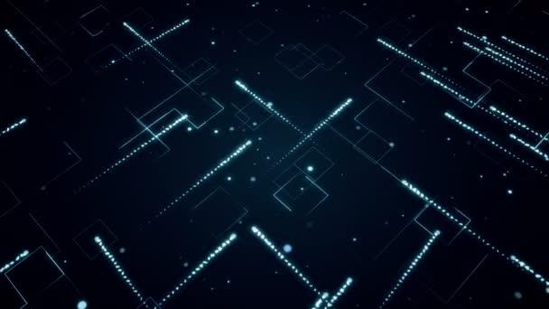 Absztrakt háttér technologic csíkok és részecskék