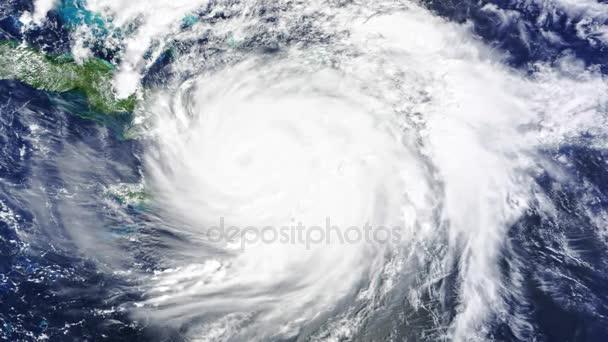 Hurrikan Sturm, Tornado, Satelliten-Ansicht. Elemente dieses Bildes, eingerichtet von der Nasa