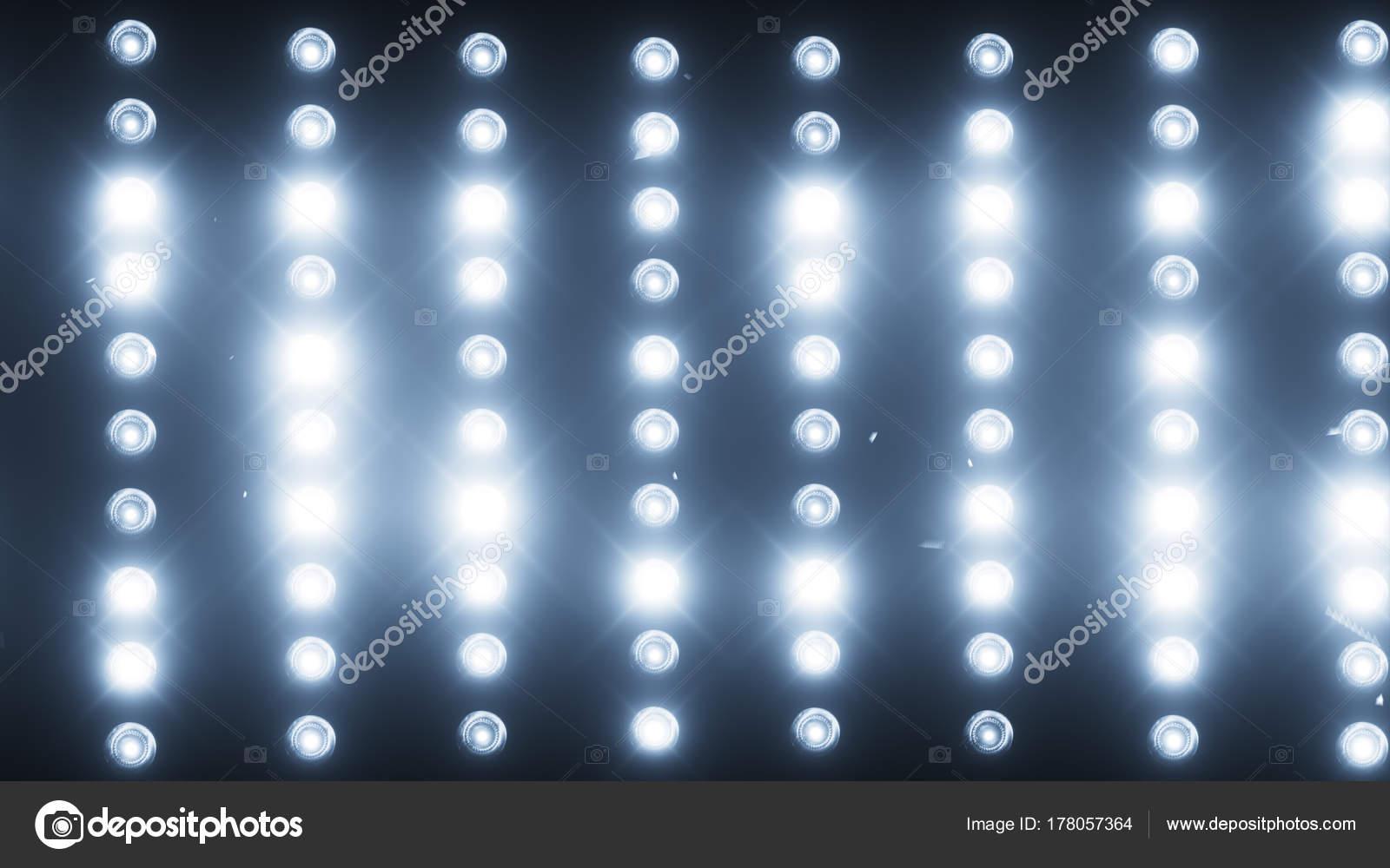 Una pared de proyectores de luz un destello de luz 3d ilustracin una pared de proyectores de luz un destello de luz 3d ilustracin fotos de aloadofball Image collections