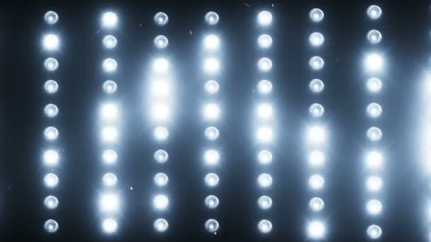 A wall of light projectors a flash of light stock video a wall of light projectors a flash of light stock video aloadofball Image collections