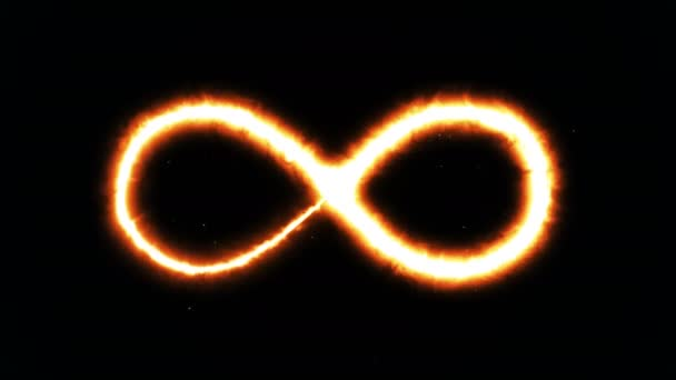 Abstract background with infinity sign