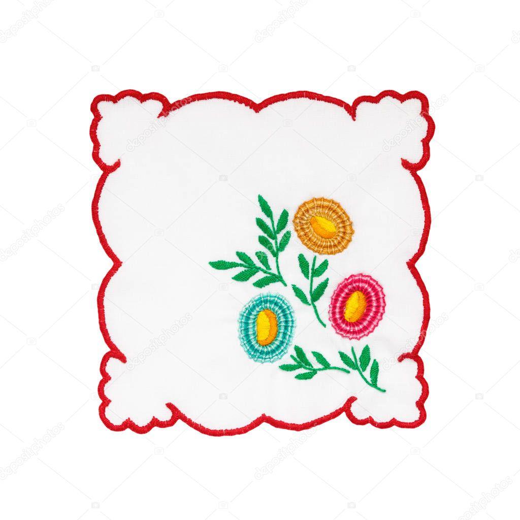 Mantel bordado Húngaro — Foto de stock © Vonschonertagen #129942936