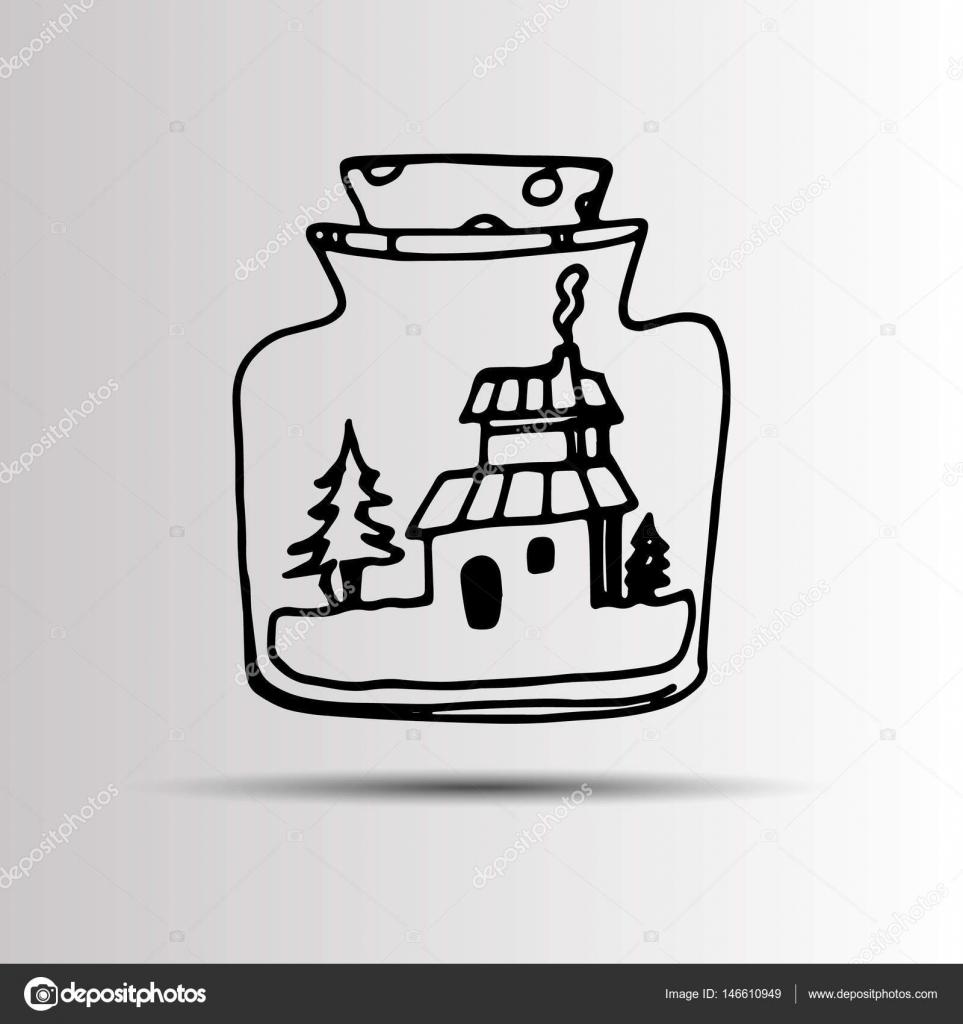 jar, vector, design, wedding, mason, retro, vintage, template, save ...