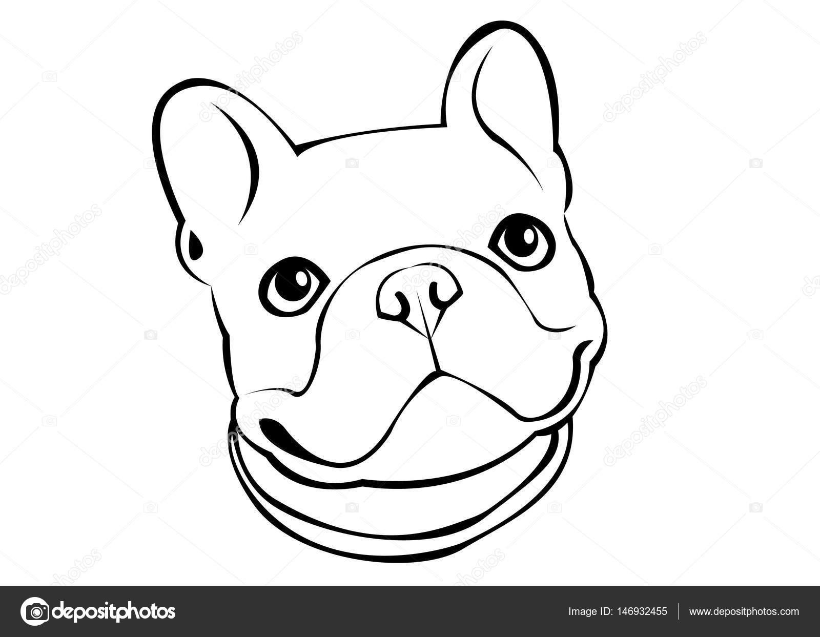 cão raça vetor fofo animais de estimação animal buldogue