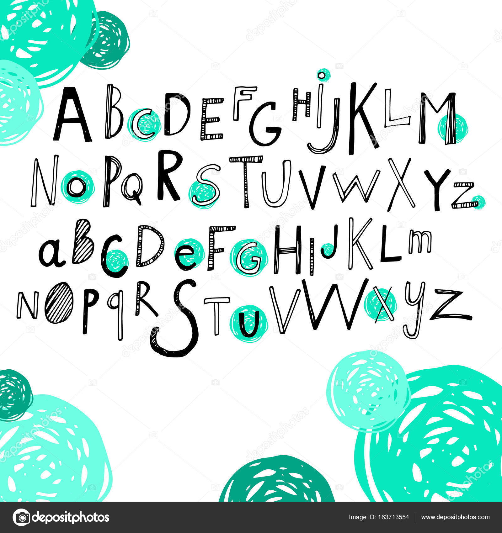 Letter Font Alphabet Vector Text Abc Design Sign Symbol
