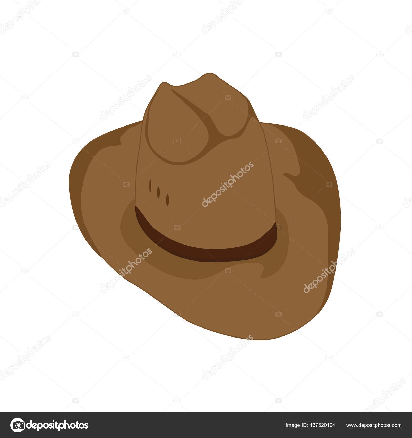 hnědá kovbojský klobouk cestovatel — Stock Fotografie © Bokasanaok ... 90c9a4b4d4