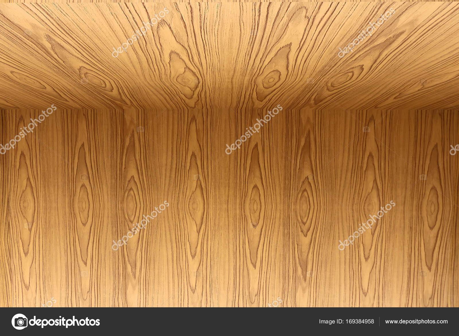 Texture Of Teak Wood Floor And Wallpaper Background Stock Photo