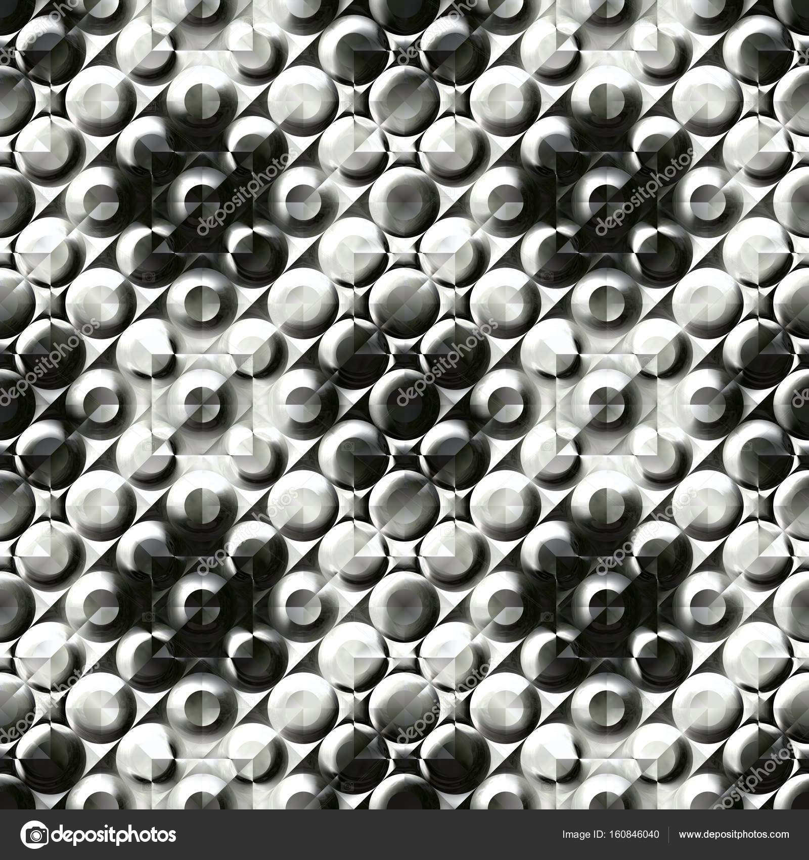 Abstract Black And White 3D Surface Pattern Relief Tile Texture Background Plastic Tiled Seamless Illustration Photo By DyxonD