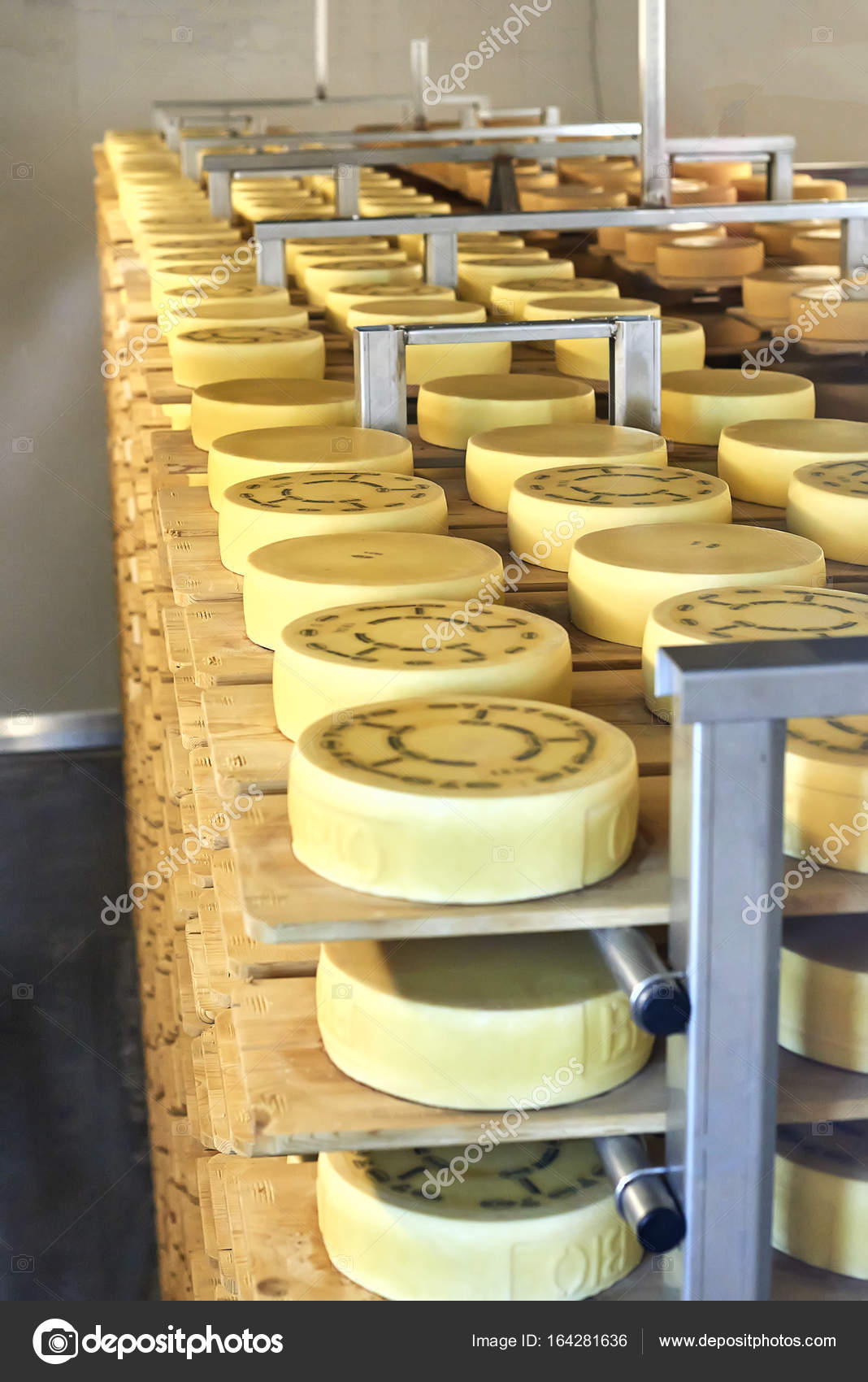 Appenzeller Cheese Storehouse Stock Editorial Photo