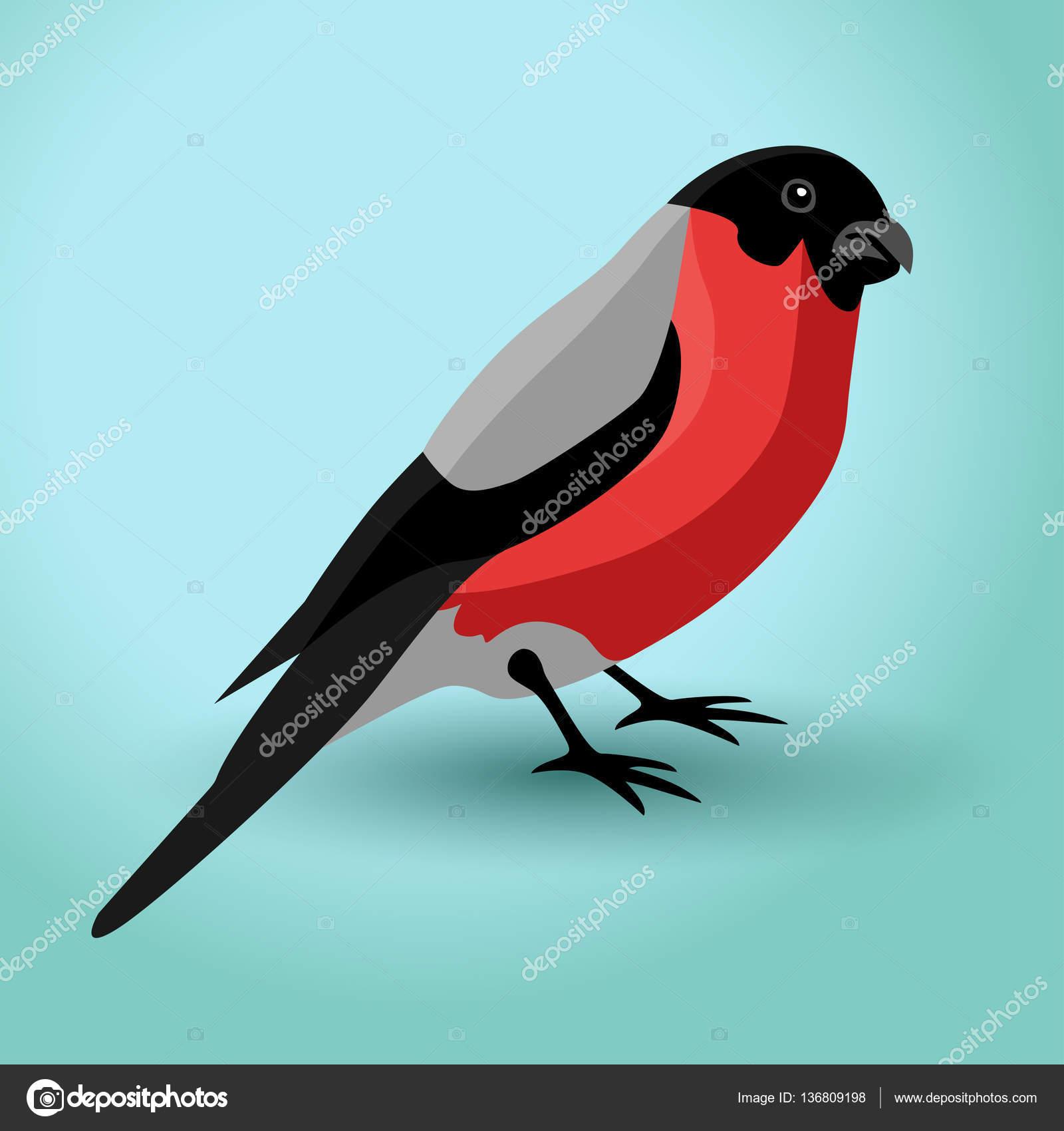 Ilustracja Wektorowa Ptak Gil Grafika Wektorowa Yok85 136809198