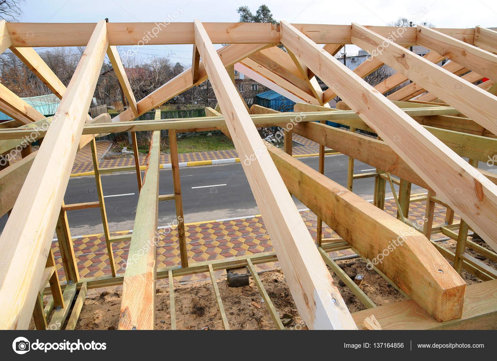 Image of estructuras de madera para techos de casas dise o - Estructura tejado madera ...