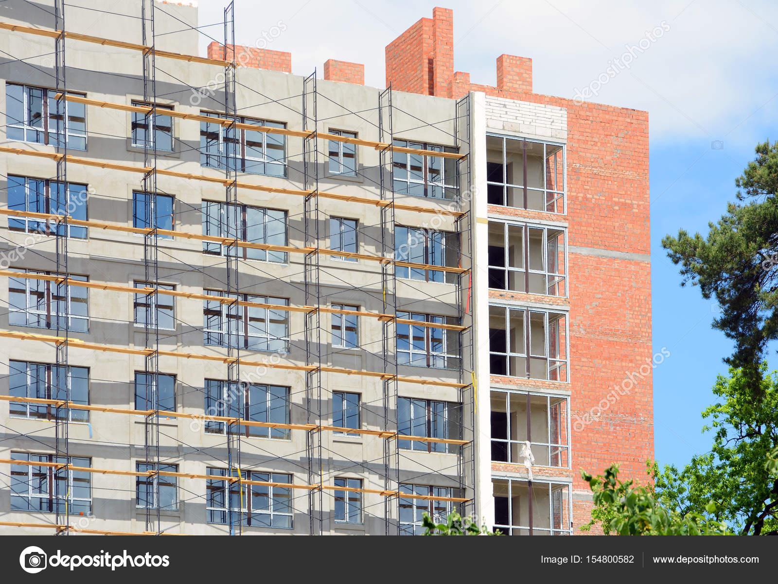 Intonaco Esterno Moderno : Costruzione di un edificio con isolamento esterno l isolamento