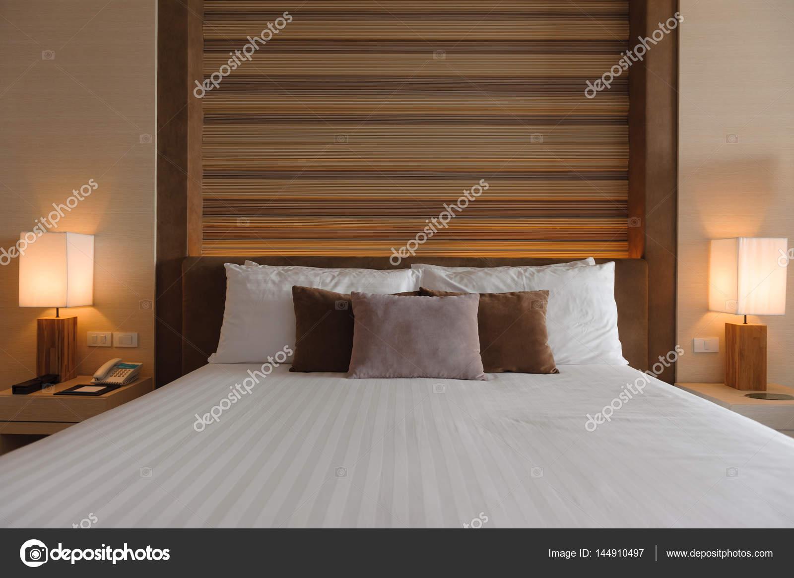 Slaapkamer interieur design moderne stijl u2014 stockfoto © vazaly