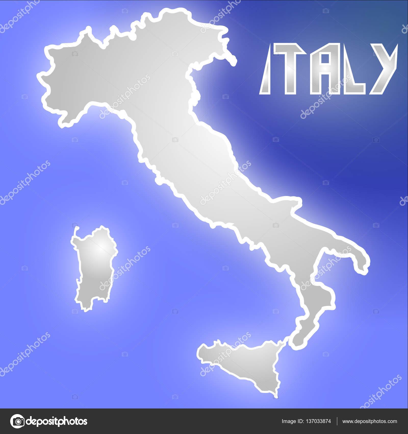 Nice Italy Map Stock Photo C Truman43 137033874