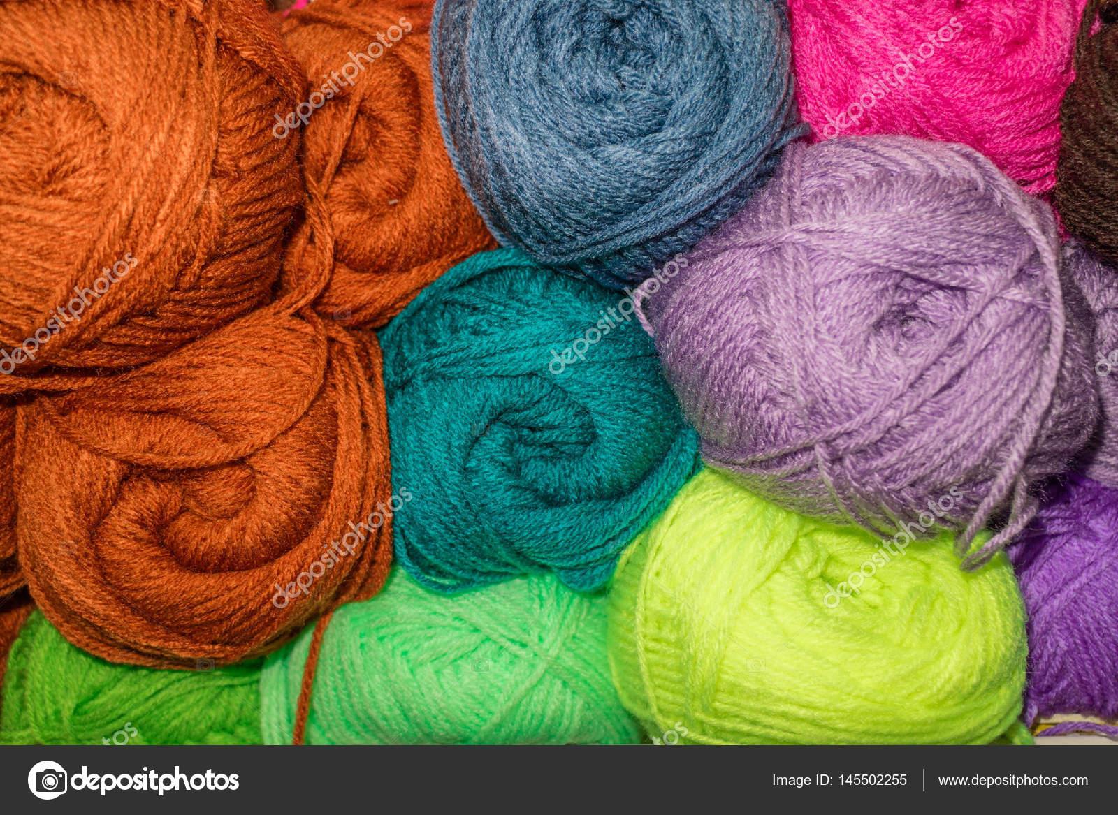 lana color abigarrado — Foto de stock © dmvlmur #145502255