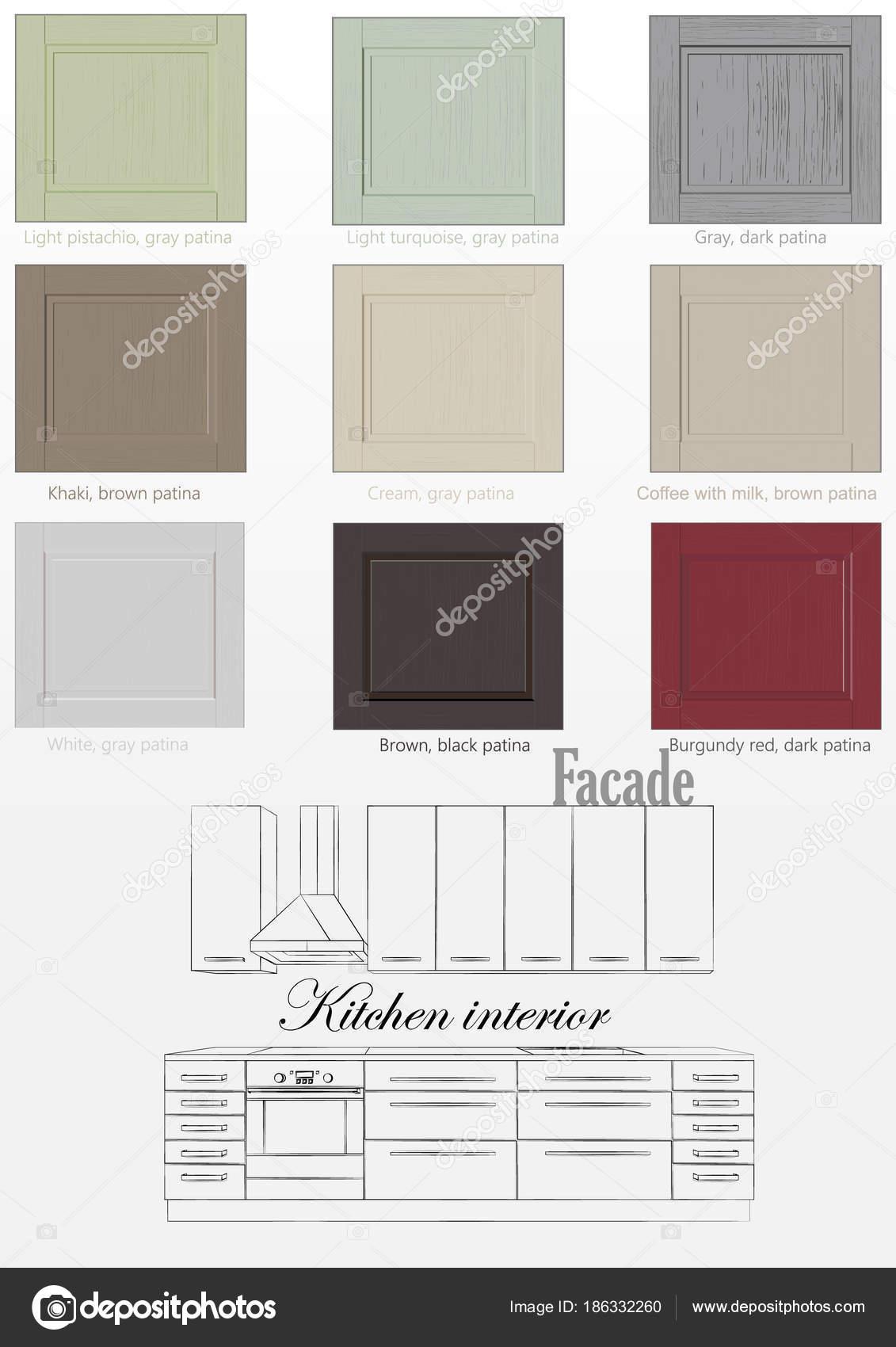 Awesome di colori della facciata cucina interior design - Il gioco della cucina ...