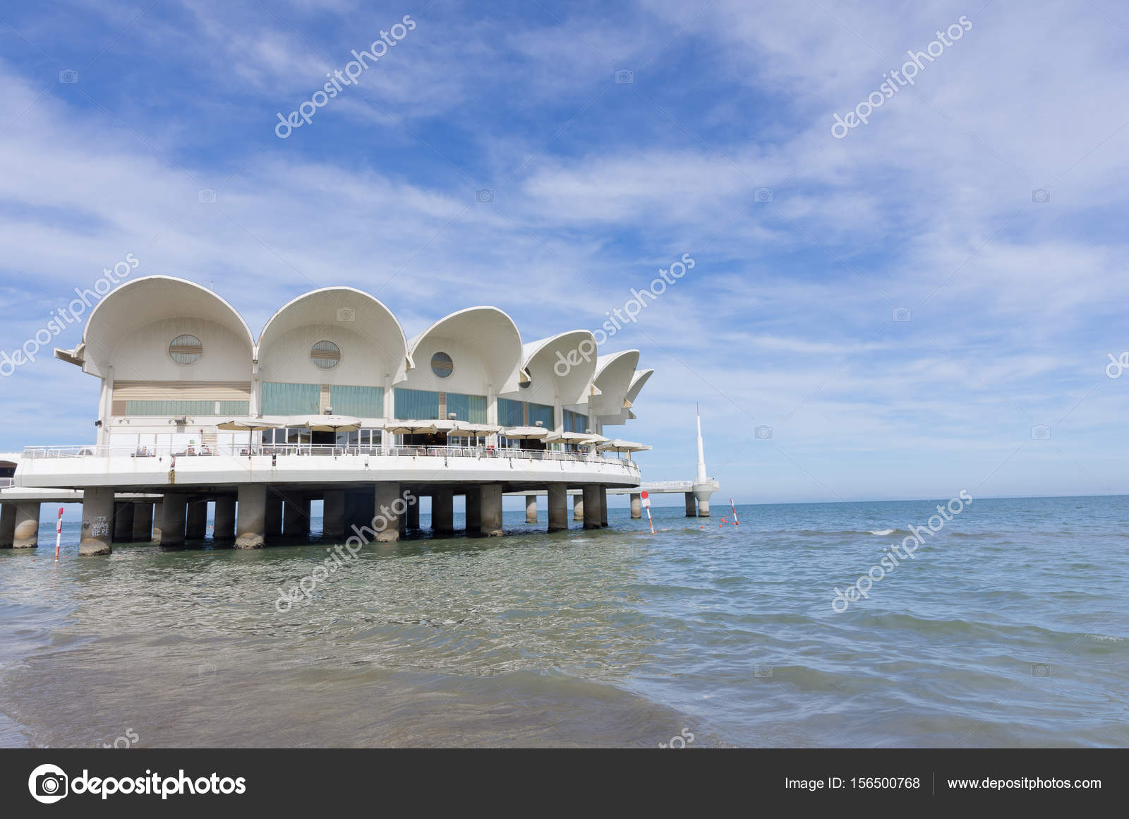 LIGNANO SABBIADORO - ITALY (9th JUNE 2017): TERRAZZA A MARE – Stock ...