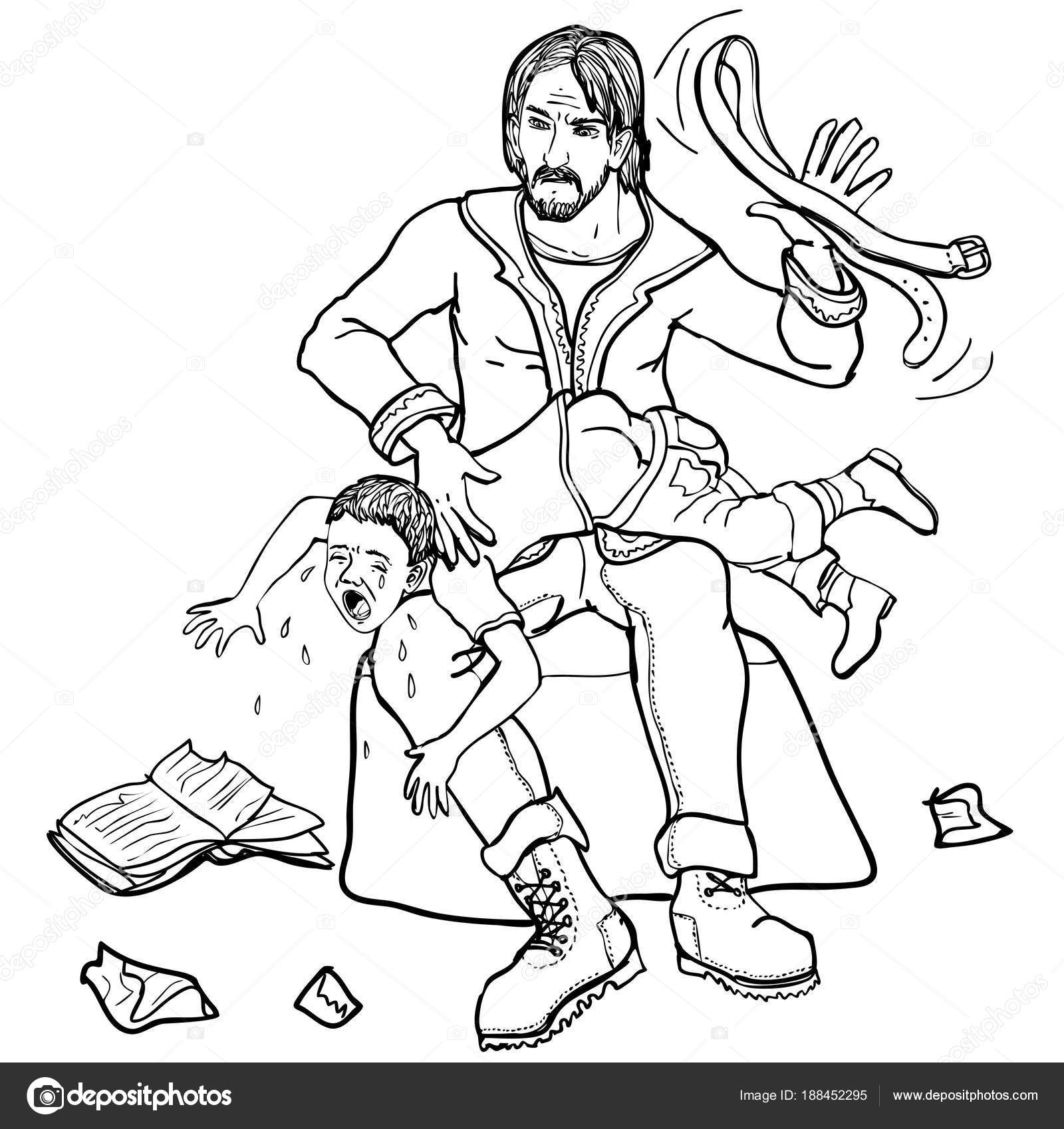 Шлепать младенцев рисунок