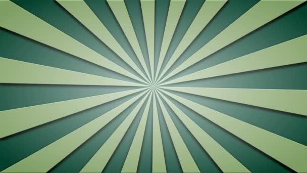 Záběry animované pozadí zelené trámy. loopable 4k videa.