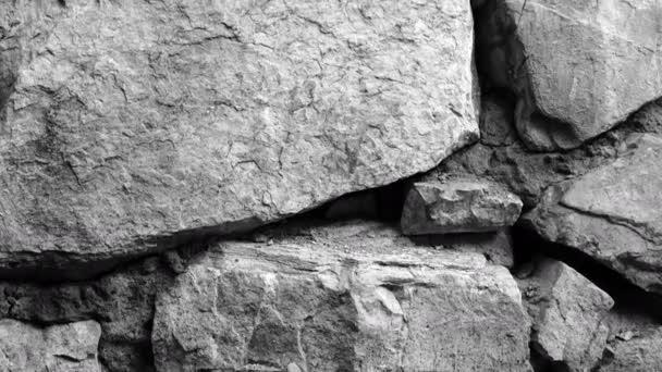 Textura pozadí záběry retro kamenné zdi.