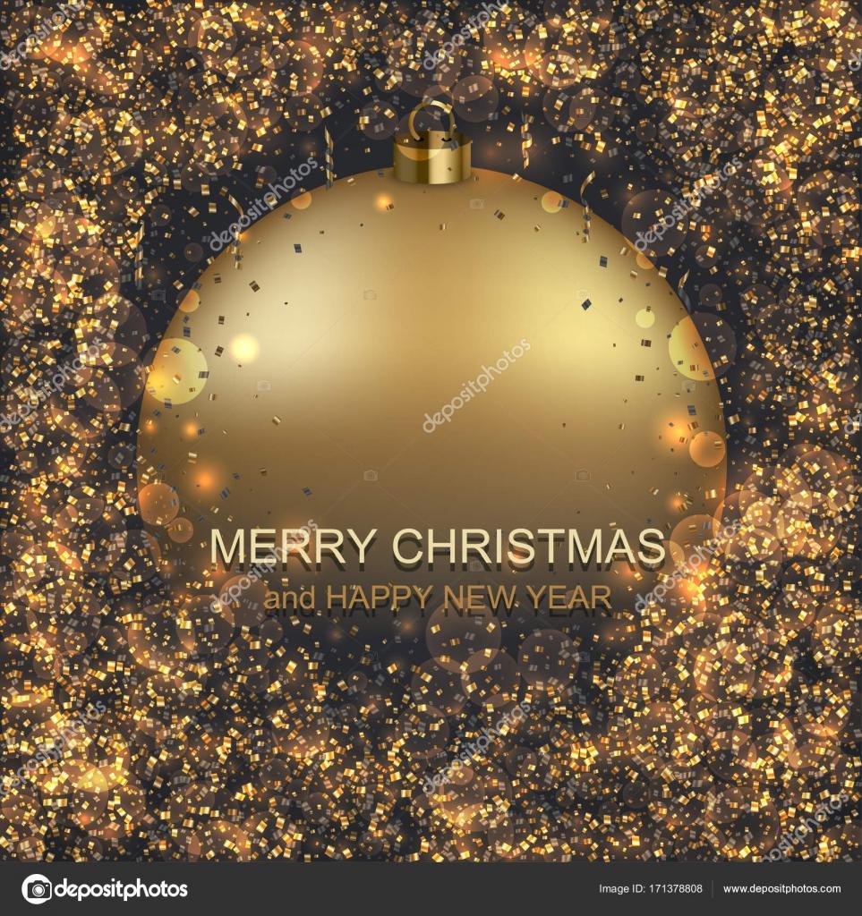 Vektor Moderne Weihnachten Oder 2018 Frohes Neues Jahr Winter Urlaub