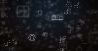 Hurok költözött videojáték ikonok háttér