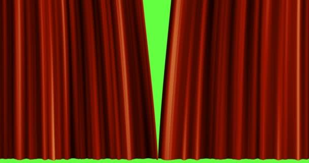 ac396ddc7d1c otevírání červený závěs z látky — Video © trambo  185726994