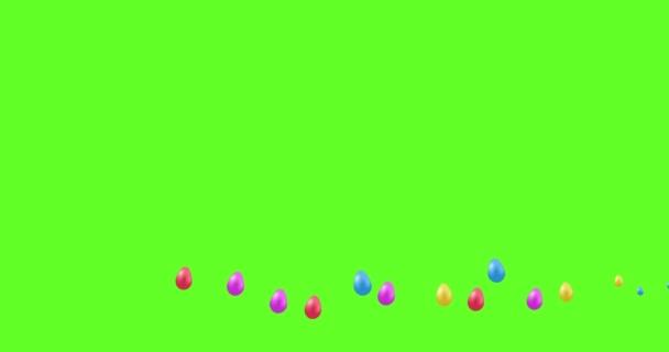 absztrakt húsvéti tojás mozgó háttér