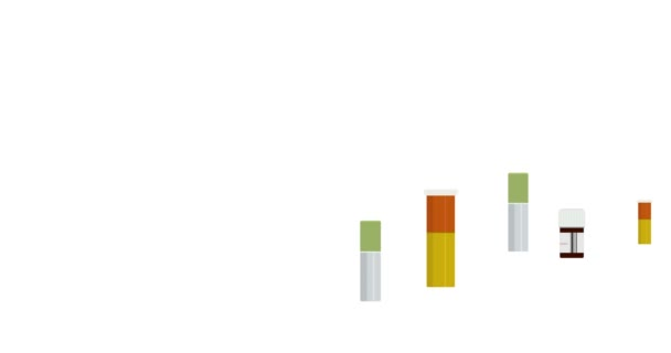 animace pohybu moderní lékovky