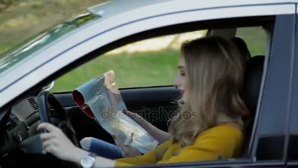Teen girl changing in car