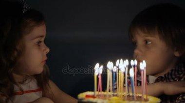 Kids selebrating birthday