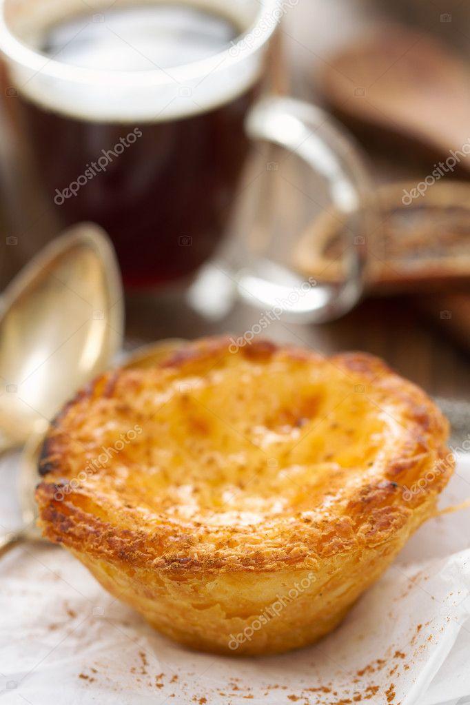 Portugiesische Kuchen Pastel De Nata Stockfoto C Nataliamylova