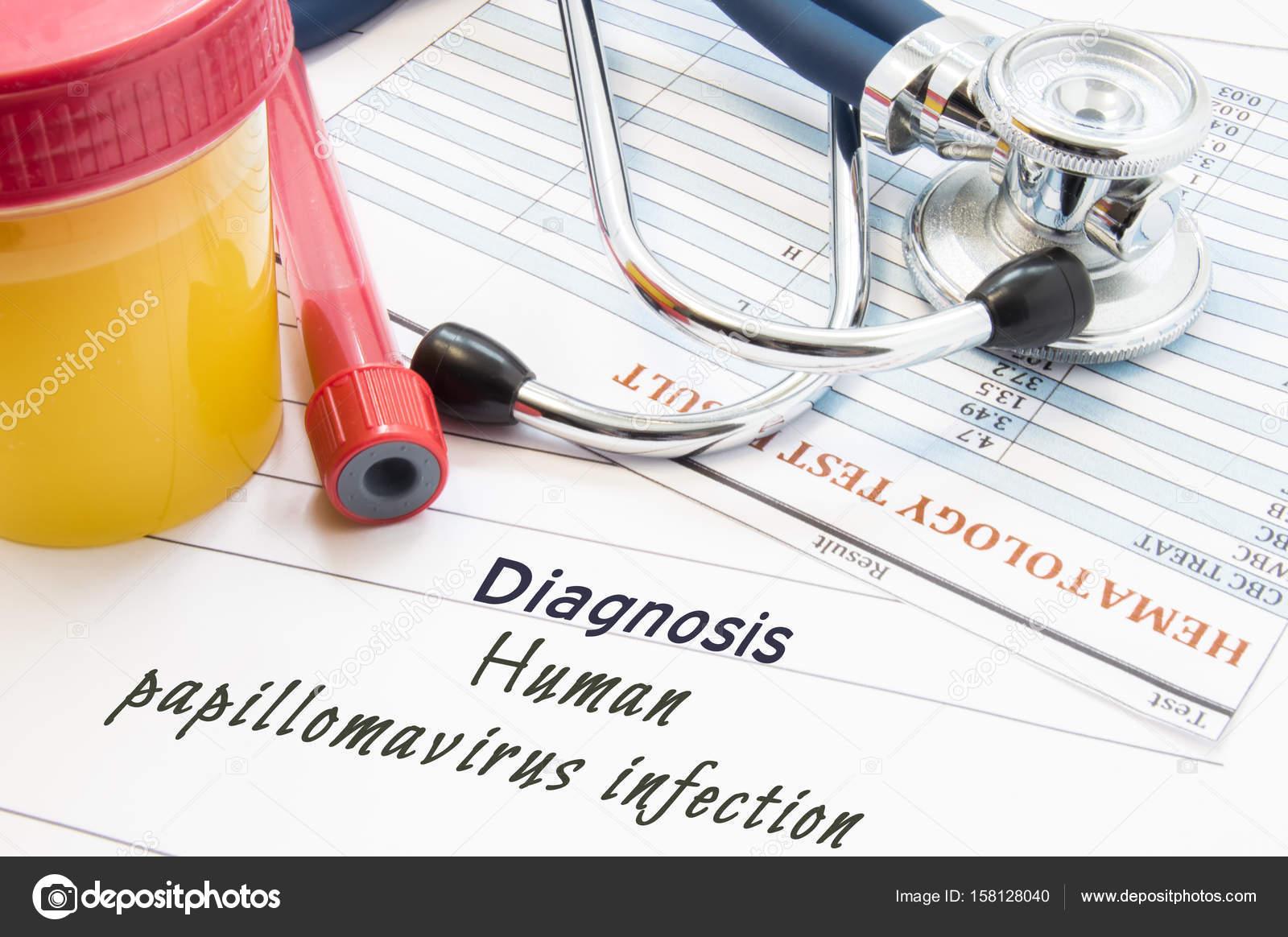 Диагностика вируса папилломы человека (ВПЧ). Стетоскоп ...