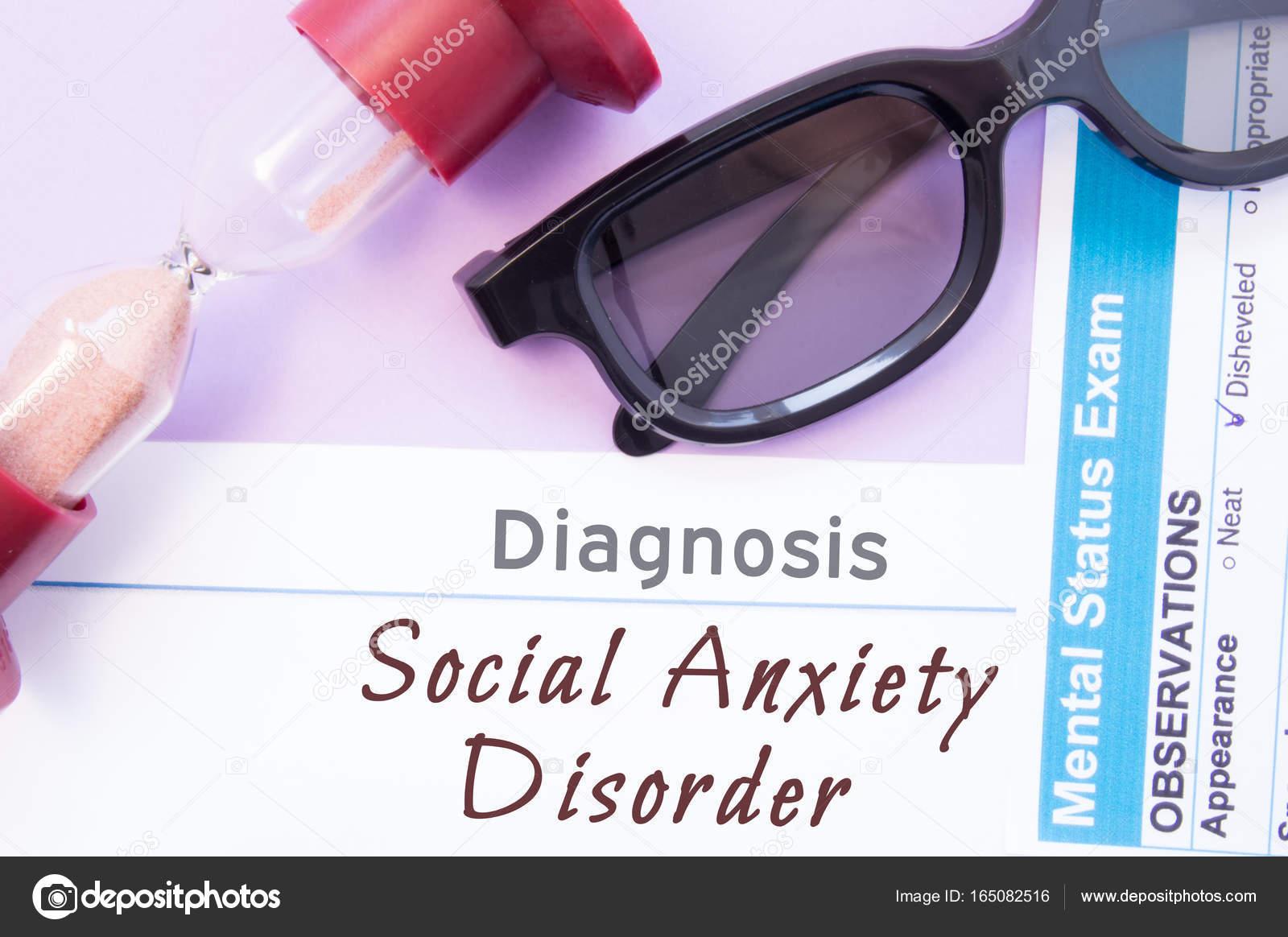 SocialeClessidraMedico Diagnosi Occhiali Di D'ansia Disturbo XZPiTOku