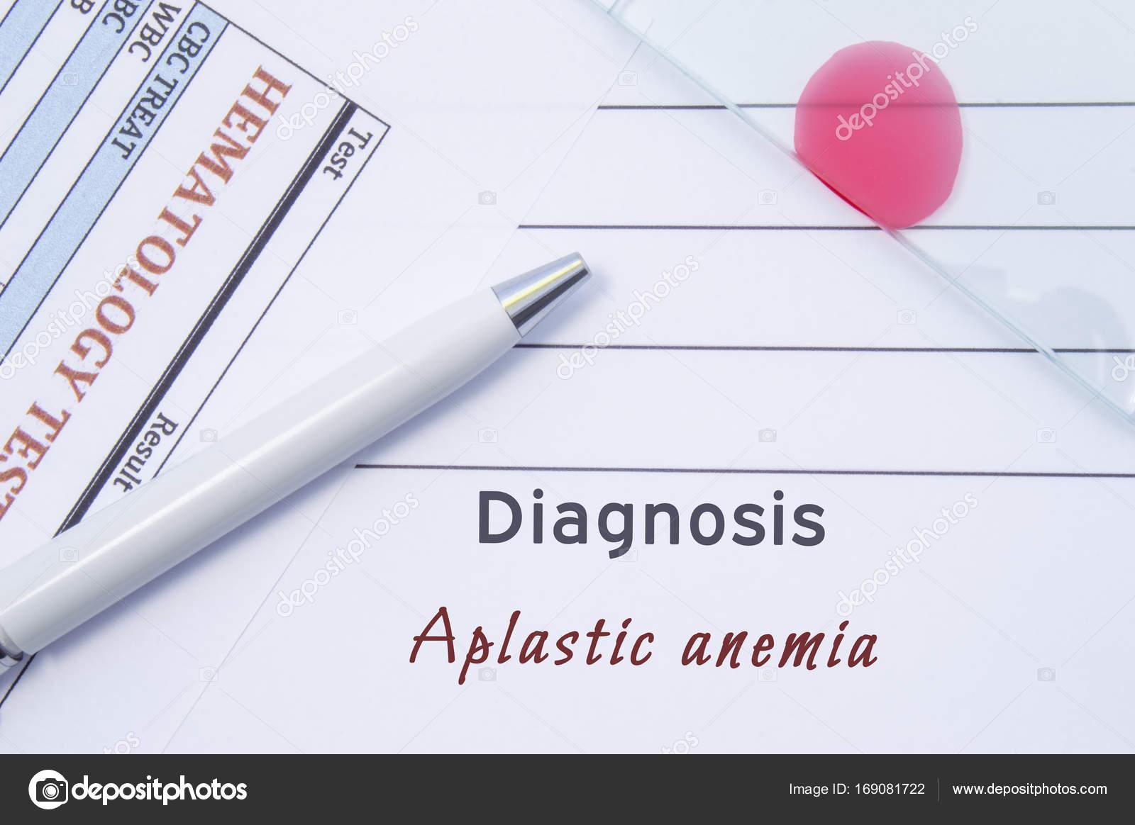 Апластическая анемия: причины, симптомы, диагностика, лечение