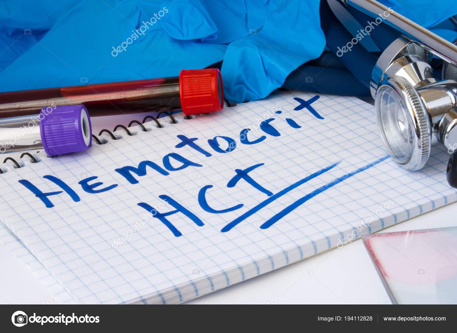 Que es hematocrito hct